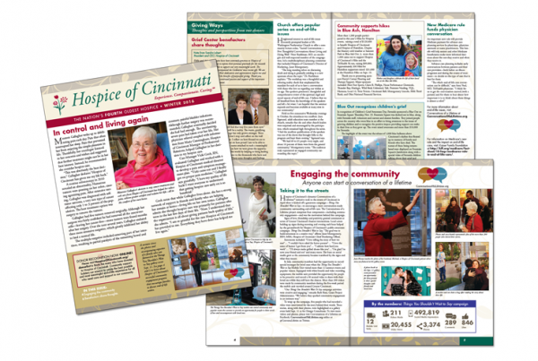 Hospice of Cincinnati: Quarterly Newsletter
