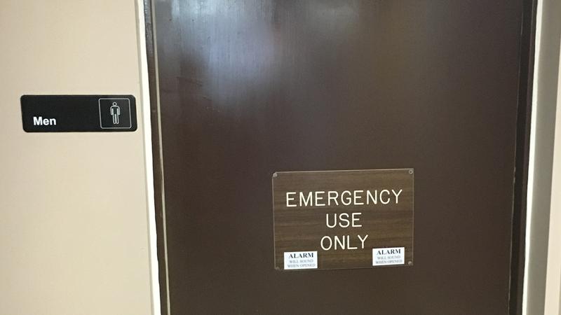 Men's Room?
