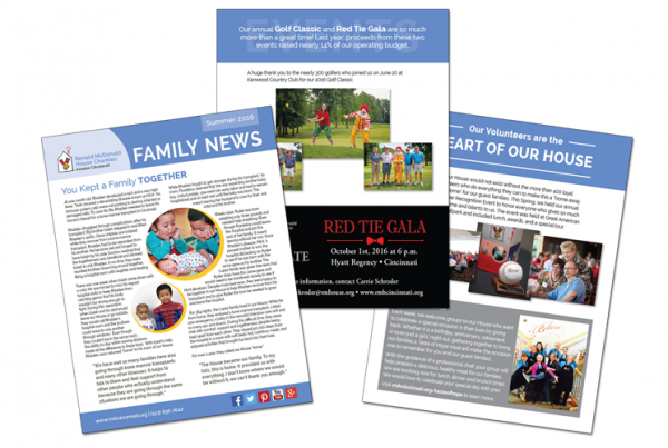Ronald McDonald House Cincinnati: Newsletter Update