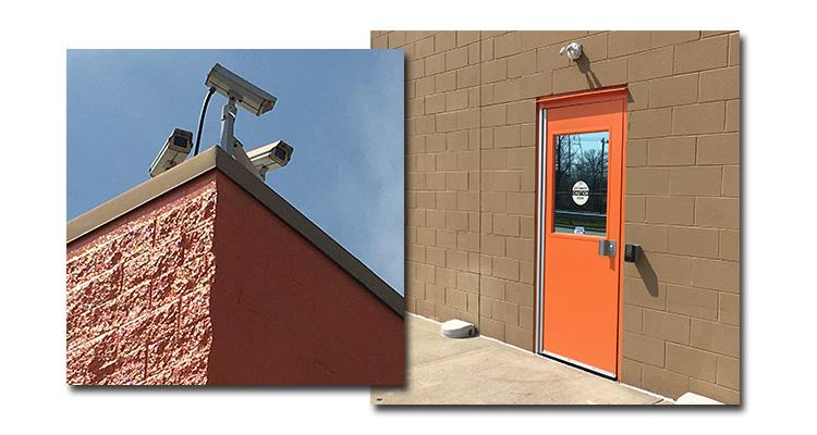 Orange door, Cameras