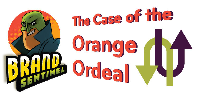 The Brand Sentinel in The Case of the Orange Ordeal