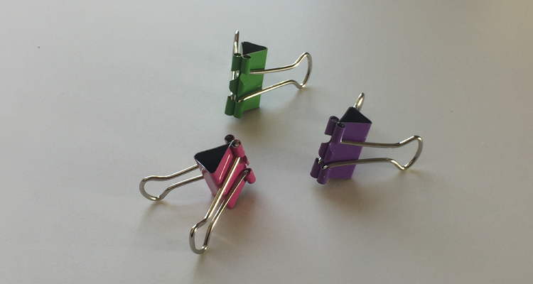 binder clip colors