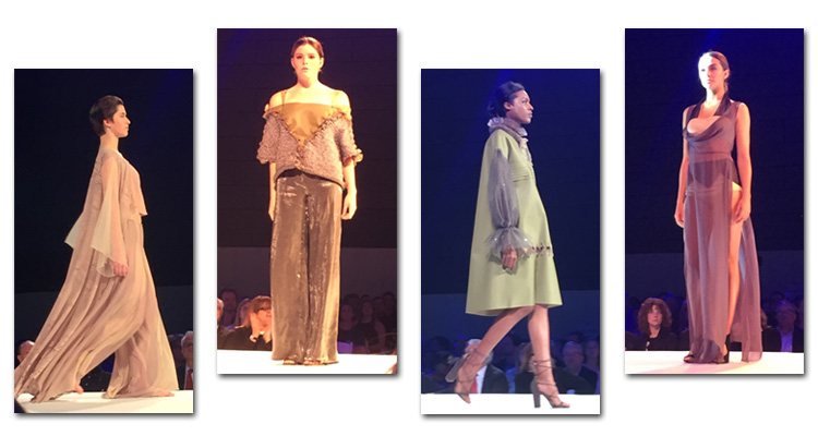 Assorted images from fashion show