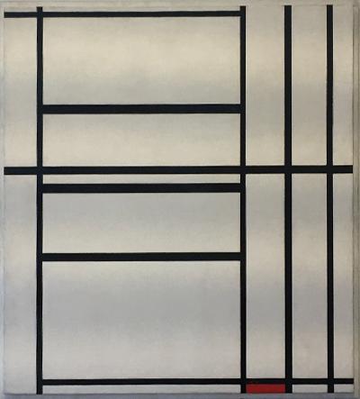 Mondrian - Peggy Guggenheim Museum, Venice