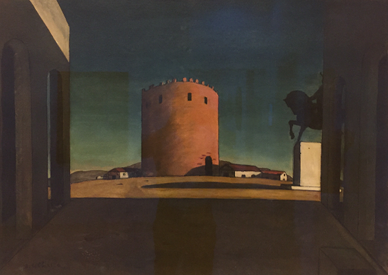 de Chirico - Peggy Guggenheim Museum, Venice