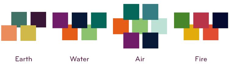 Elemental Color Palettes