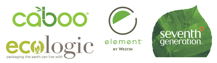 Green, Logos of Environmentally-Friendly Companies