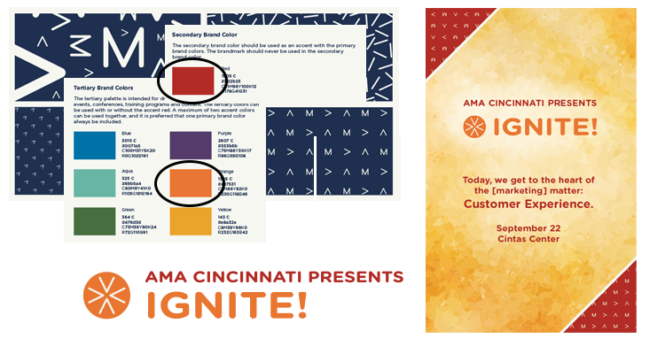 AMA Cincinnati Ignite event design