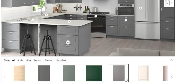 Ikea's on-line designer tool