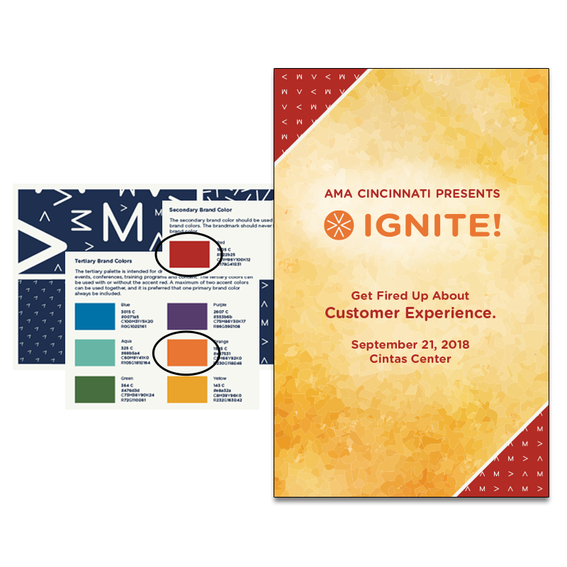 AMA Cincinnati Presents Ignite. Get fired up about customer experience.