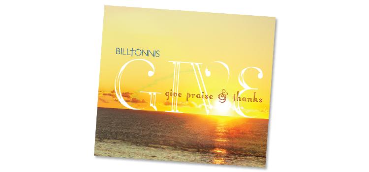 Example of album cover using contrast